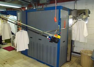 laundry screw conveyor