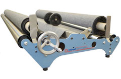 Hand Wind 1800 – Fabric inspection machine, measure, cut & re-roll