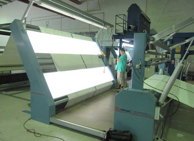 Delta Fabric Inspection Machine Measure Cut Amp Roll Hiemac