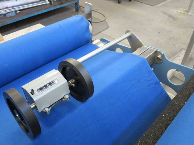 Hand Wind Fabric Inspection And Measuring Machine Hiemac