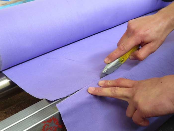 HW1800 - Using the cutter bar.