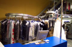 Storage Systems for Dry Cleaners & Laundries